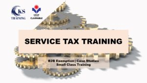 Service Tax Training in KL